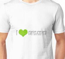 I <3 gaming (green) Unisex T-Shirt