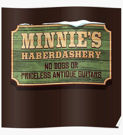 Minnie's Haberdashery Poster