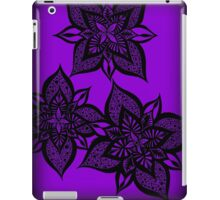 Floral Fantasy in Purple iPad Case/Skin