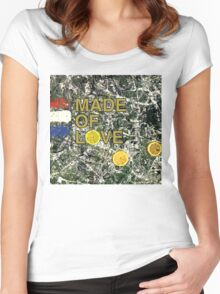 Stone Roses Made Of Stone Women's Fitted Scoop T-Shirt