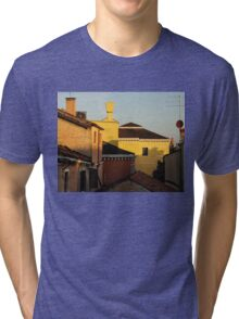 Venice, Italy - Fabulous Rooftops and Chimneys Tri-blend T-Shirt