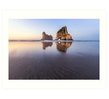 Archway Islands, Wharariki Beach - Tasman - New Zealand Art Print