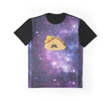 A Gentleman Mexican Galactic Taco Graphic T-Shirt