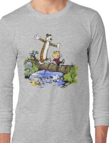 Calvin and Hobbes Adventure Long Sleeve T-Shirt
