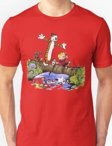 Calvin and Hobbes Adventure Unisex T-Shirt