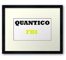 Quantico Framed Print