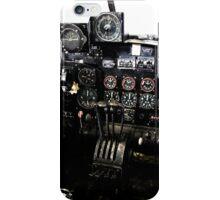 RAF World War 2 AVRO Lancaster cockpit iPhone Case/Skin