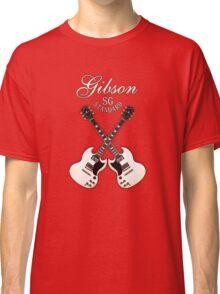 White Gibson SG  Classic T-Shirt