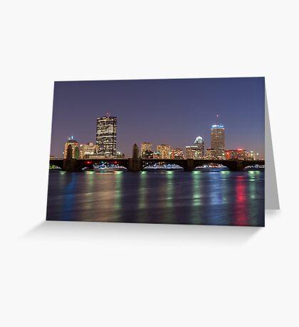 Boston Reflections Greeting Card