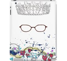 The Princess Wears Glasses?! Shut Up! iPad Case/Skin