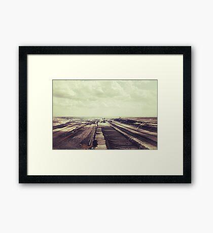 The age of destruction Framed Print