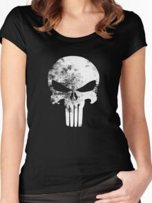 Punisher Women's Fitted Scoop T-Shirt