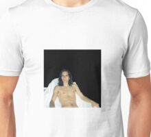 Long-Haired Male Youth Shirtless # 5  Unisex T-Shirt