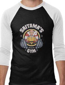 Saitama Gym Men's Baseball ¾ T-Shirt