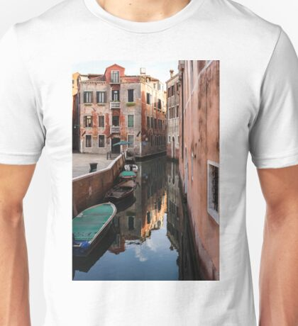 Venice, Italy - Wandering Around the Small Canals Unisex T-Shirt