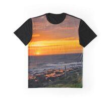 Yachats Oregon - Designer Sky Graphic T-Shirt