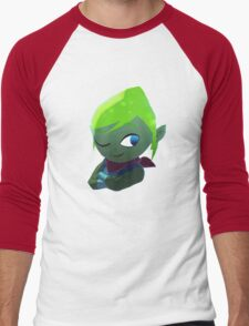 LeafyIsHere Profile picture (WITHOUT TEXT) Men's Baseball ¾ T-Shirt