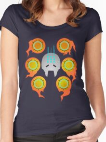 Pass Into The Iris Women's Fitted Scoop T-Shirt
