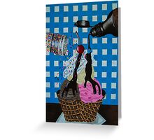 We all scream for Greeting Card