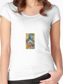 Spiritual love Women's Fitted Scoop T-Shirt