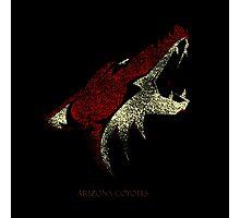 Arizona coyotes Logo Bluringg Photographic Print