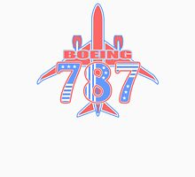 Red and Blue 787 T-Shirt