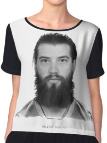 Brent Burns Chiffon Top