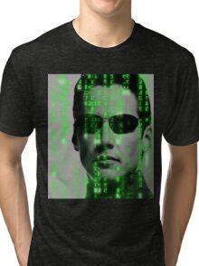 The Matrix - Neo Tri-blend T-Shirt