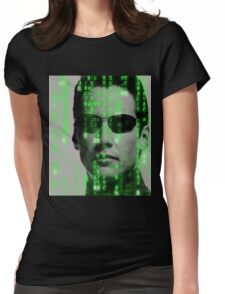 The Matrix - Neo Womens Fitted T-Shirt