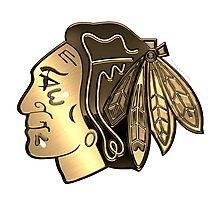 Chicago BlackHawks Cool logo Photographic Print