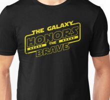The Galaxy Honors the Brave  Unisex T-Shirt