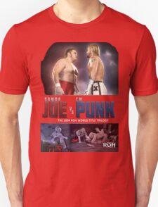 CM Punk vs Samoa Joe (ROH trilogy) T-Shirt