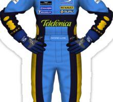 Fernando Alonso 2005 Sticker