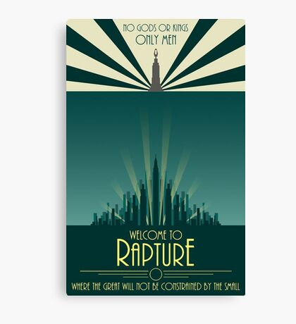Bioshock Art #1 Canvas Print