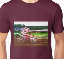 """The amazing effect of the slow speed 1 (c)(t) a PAINT with humor ! """"Kiss the cool effect"""" without digital effects with compact kodak z 1285! on 29.07.2012 Unisex T-Shirt"""