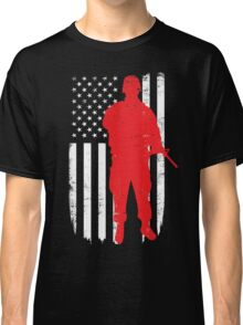 Army Soldier Flag Day Memorial T-shirt Classic T-Shirt