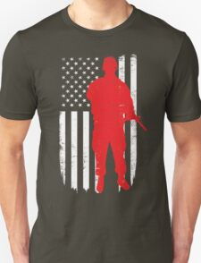 Army Soldier Flag Day Memorial T-shirt T-Shirt