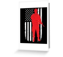 Army Soldier Flag Day Memorial T-shirt Greeting Card
