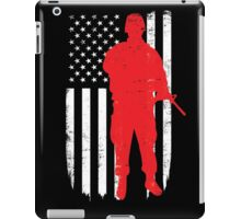Army Soldier Flag Day Memorial T-shirt iPad Case/Skin