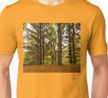 Impressions of Forests - Through the Lace of Pine Branches Unisex T-Shirt