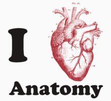 i love anatomy by jaysalt