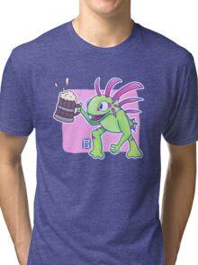 Beer Loving Murloc Tri-blend T-Shirt