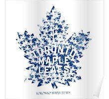 Toronto Maple Leafs Logo Stunning Poster