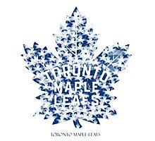 Toronto Maple Leafs Logo Stunning Photographic Print