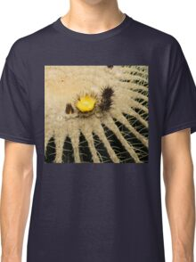 Fascinating Cactus Bloom - Soft and Fragile Among the Thorns Classic T-Shirt
