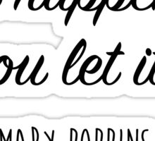 Mary Poppins - Anything can happen Sticker