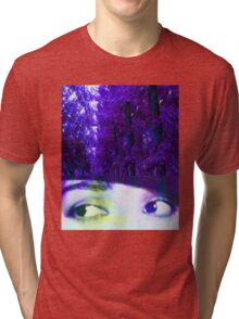 Eyes in the Forest Tri-blend T-Shirt
