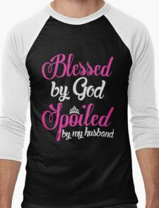 Blessed By God Spoiled by my husband T-Shirt