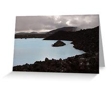 Iceland - Blue Lagoon Geo-Thermal Spa Greeting Card