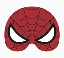 super hero mask (spider man) Baby Tee